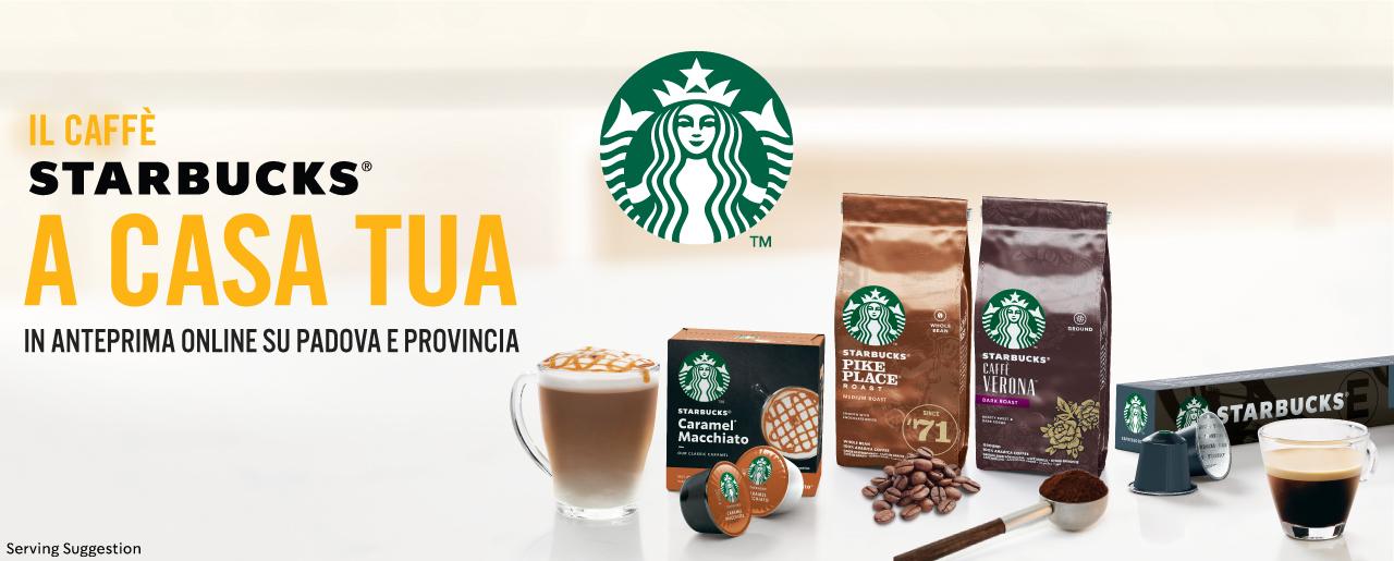 Il caffè STARBUCKS a casa tua!