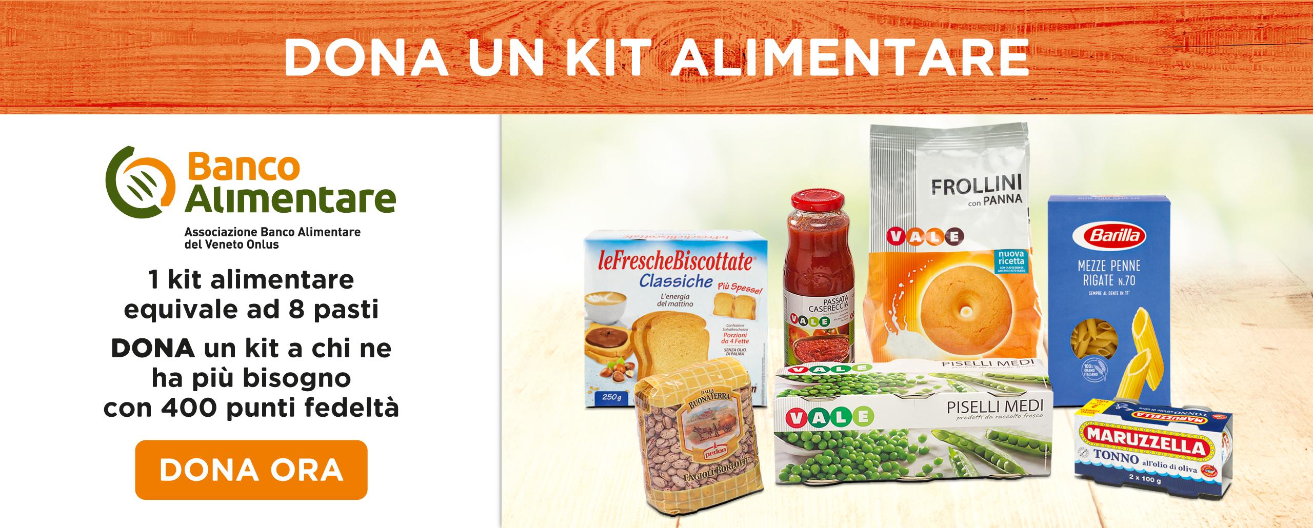 Donazione Kit Banco Alimentare (sito)
