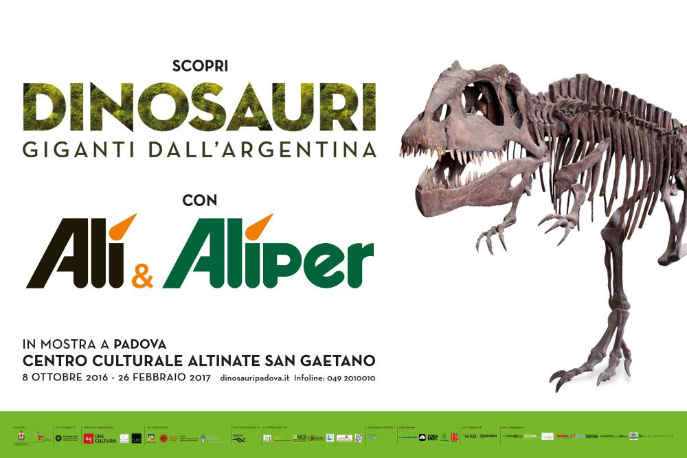Dinosauri. Giganti dall'Argentina in mostra a Padova