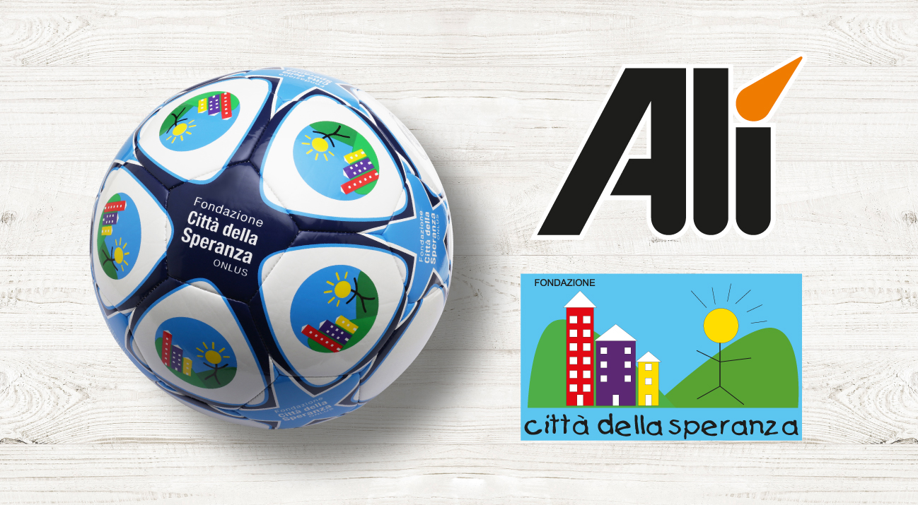Alì vicino alla ricerca: i palloni Della Fondazione Città della Speranza presenti nei punti vendita Alì