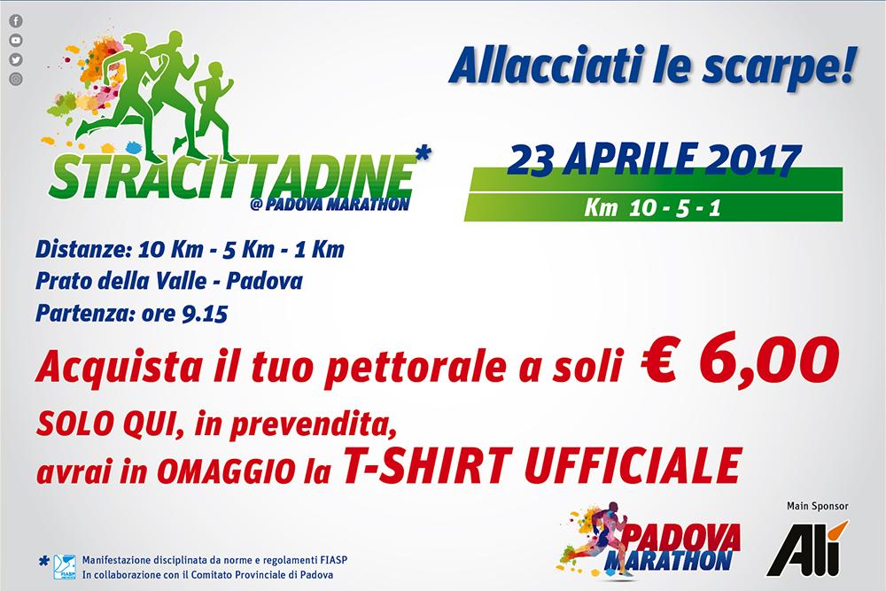 Pronti i pettorali per le Stracittadine della tanto attesa Padova Marathon!