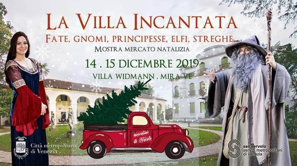 Scopri Villa Widmann e le fate