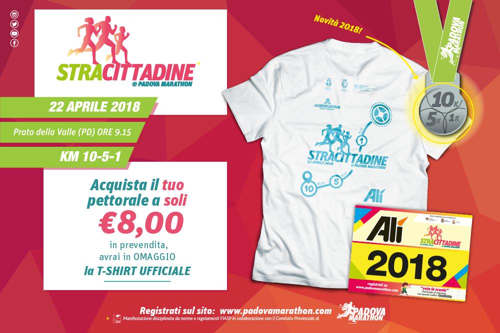 Alì alla Padova Marathon 2018