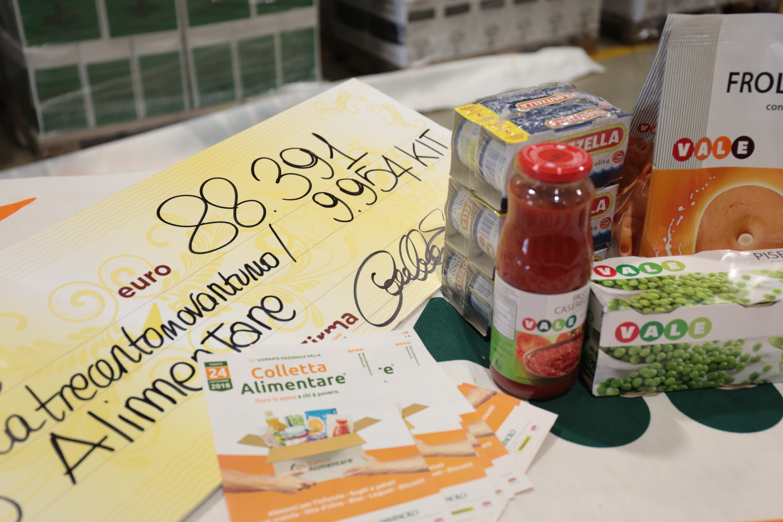 80.000 Pasti donati al banco alimentare dai clienti Alì