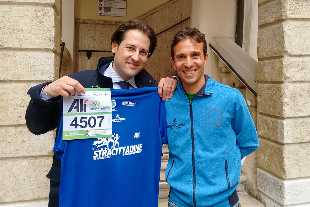 Alì alla Padova Marathon 2017