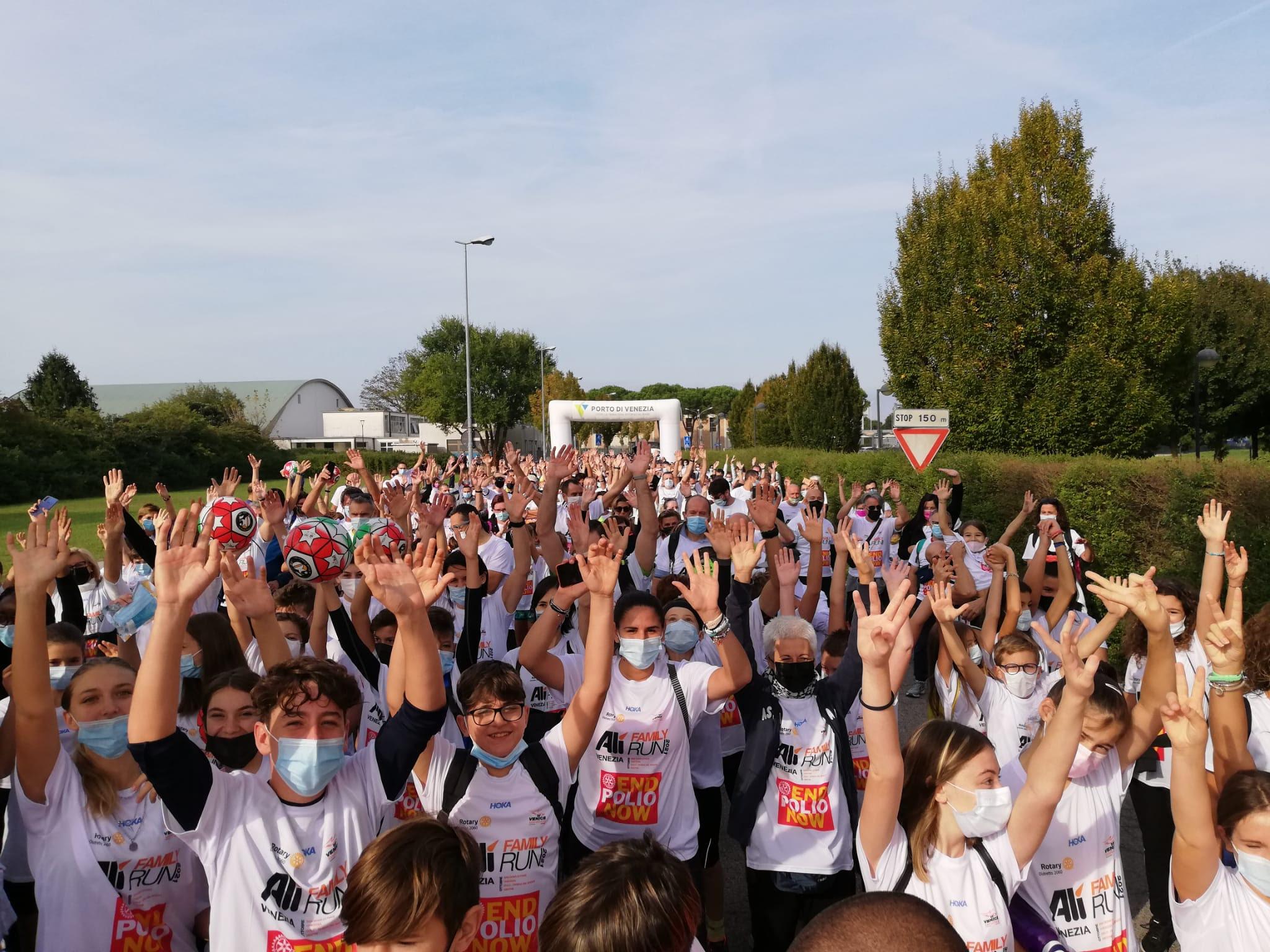1.500 questa mattina a San Donà di Piave per Alì Family Run