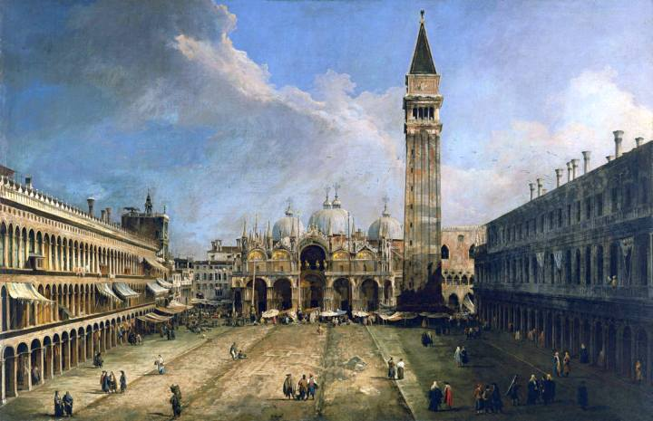 """Visita la mostra """"Canaletto e Venezia""""."""