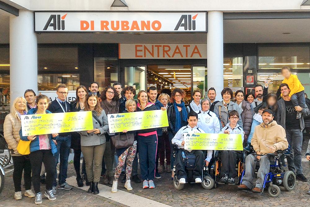 3000 € alle associazioni locali grazie a We Love People