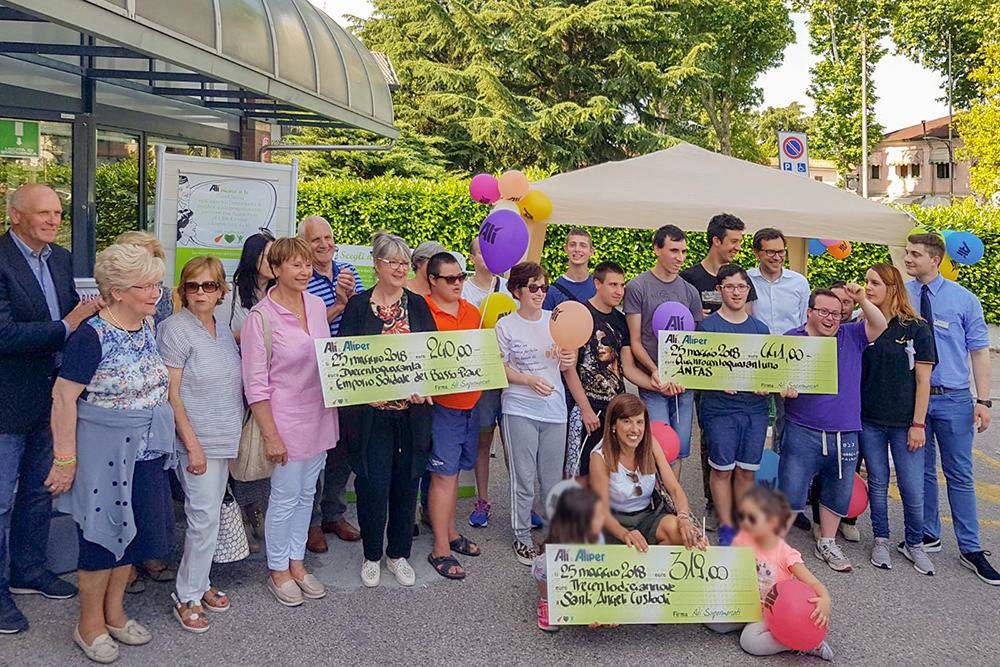 We Love People arriva a San Donà di Piave donando altri 1000 € al non-profit