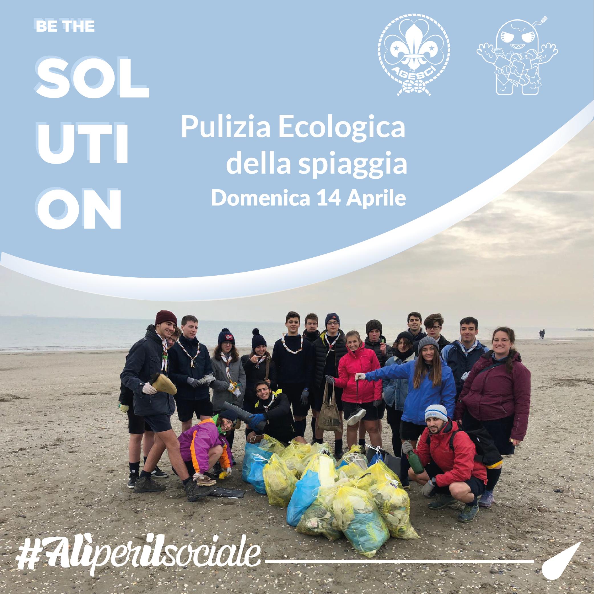 *AGGIORNAMENTO* Andiamo a ripulire le spiagge con gli Scout -14 aprile