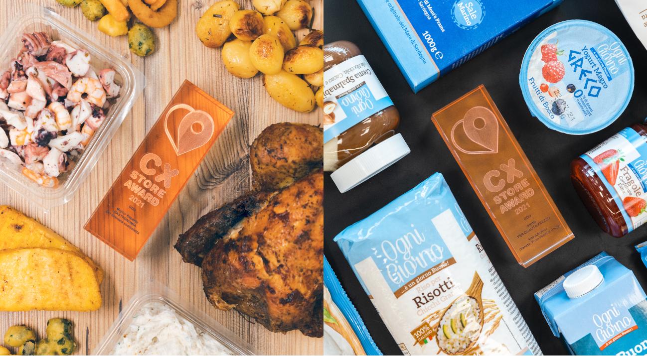 CX STORE AWARD premia Alì con il primo posto per rapporto qualità/Prezzo e Miglior reparto Gastronomia