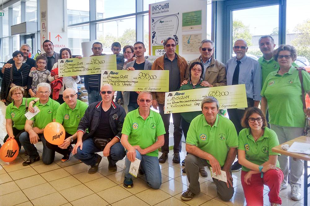 We Love People premia altre 9 associazioni a Rubano, Villafranca e Istrana