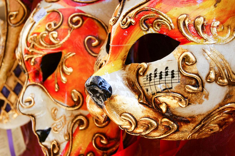 La maschera veneziana fai-da-te