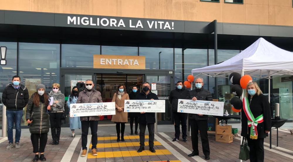 """""""WE LOVE PEOPLE"""" premia all'Alìper di Camisano Vicentino le prime tre associazioni locali"""