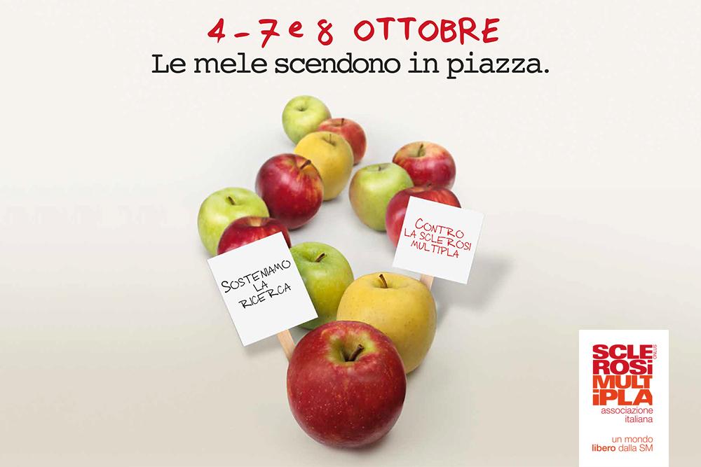 """Sabato 7 e domenica 8 ottobre la """"Mela di AISM"""" torna nei supermercati Alì per la lotta alla sclerosi multipla"""