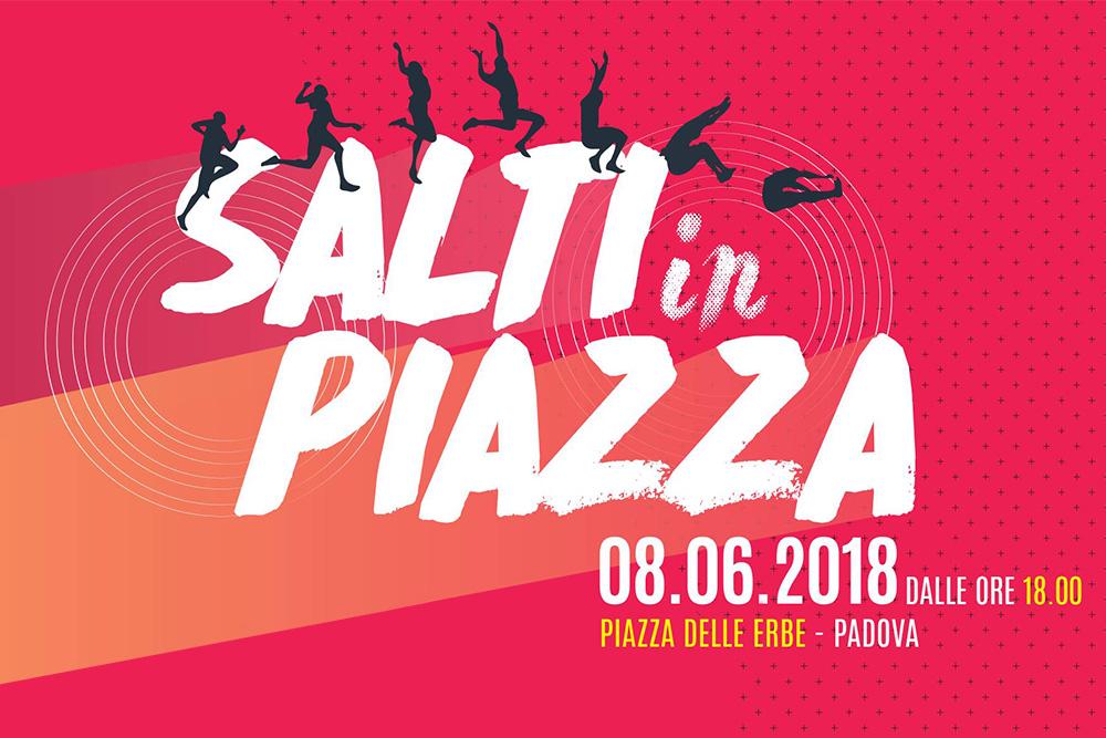 Vieni a trovarci a Salti in Piazza l'8 giugno