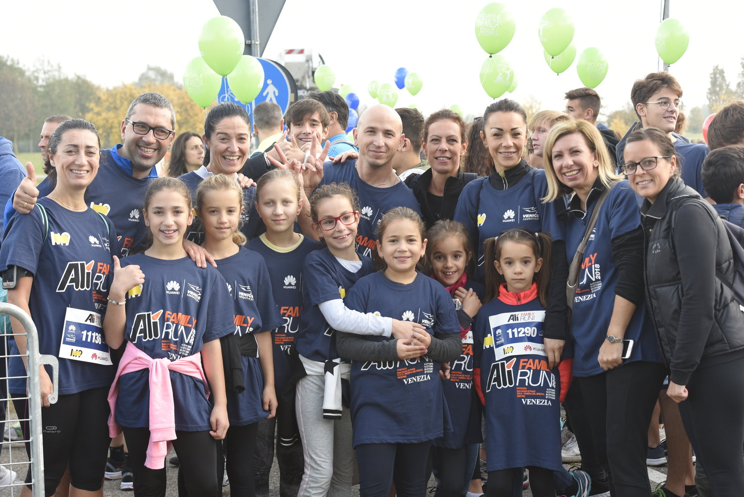 Alì Family Run: 3,2,1...si parte!