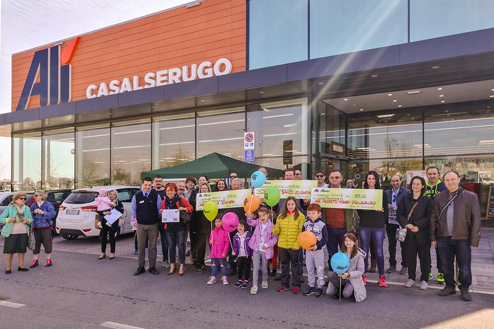 Altri 2000 euro ai territori di Casalserugo e Rubano