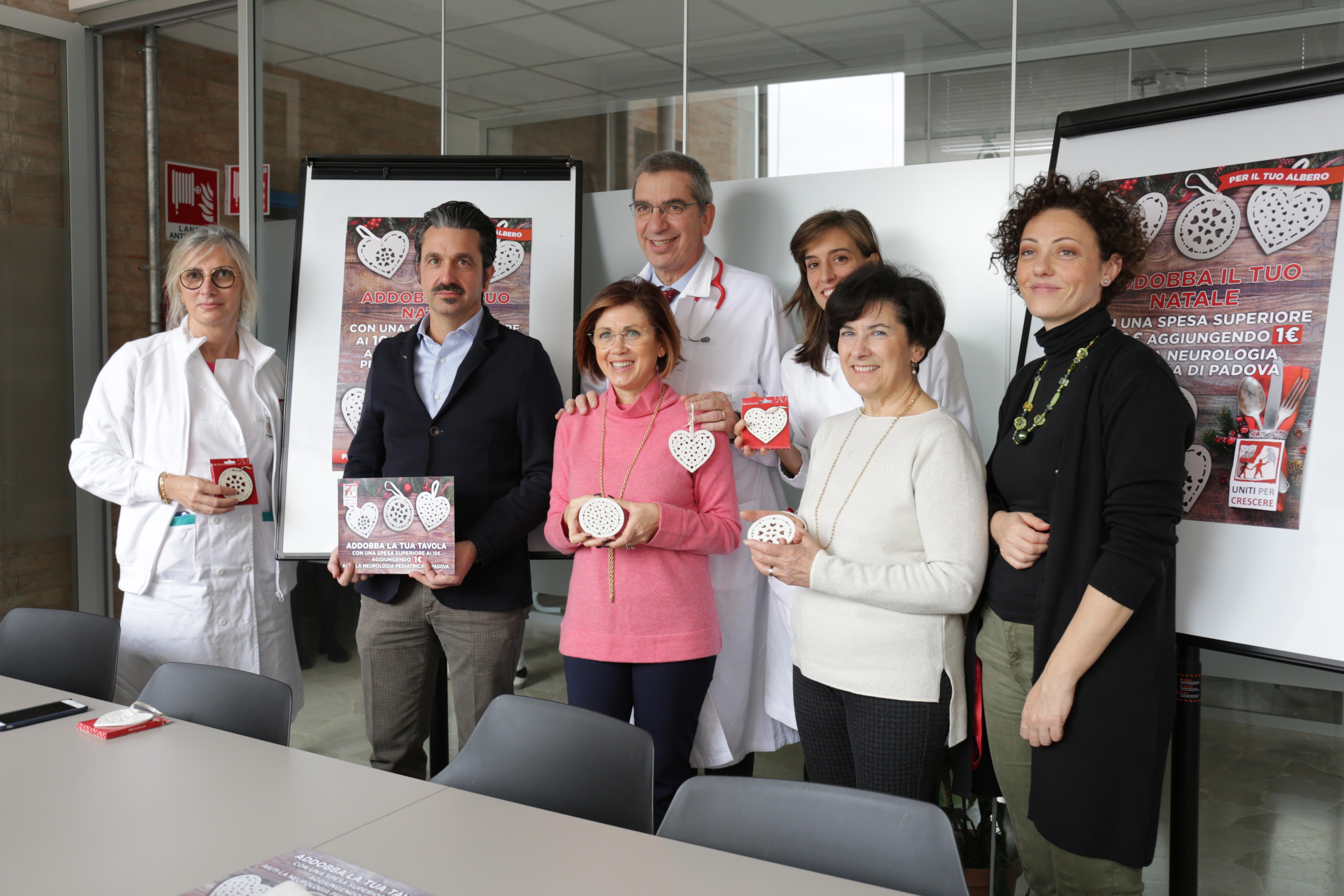 Con Alì addobbi il tuo Natale per i bambini della Neurologia Pediatrica dell'Ospedale di Padova