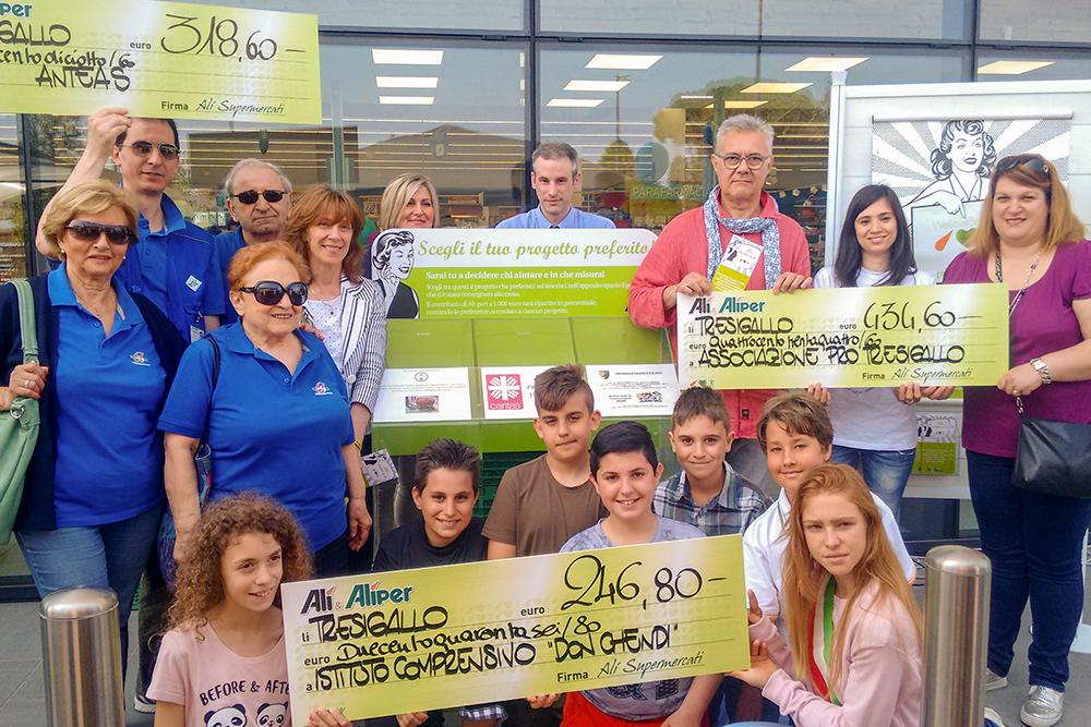 We Love People a Tresigallo premia le prime 3 realtà locali del non profit