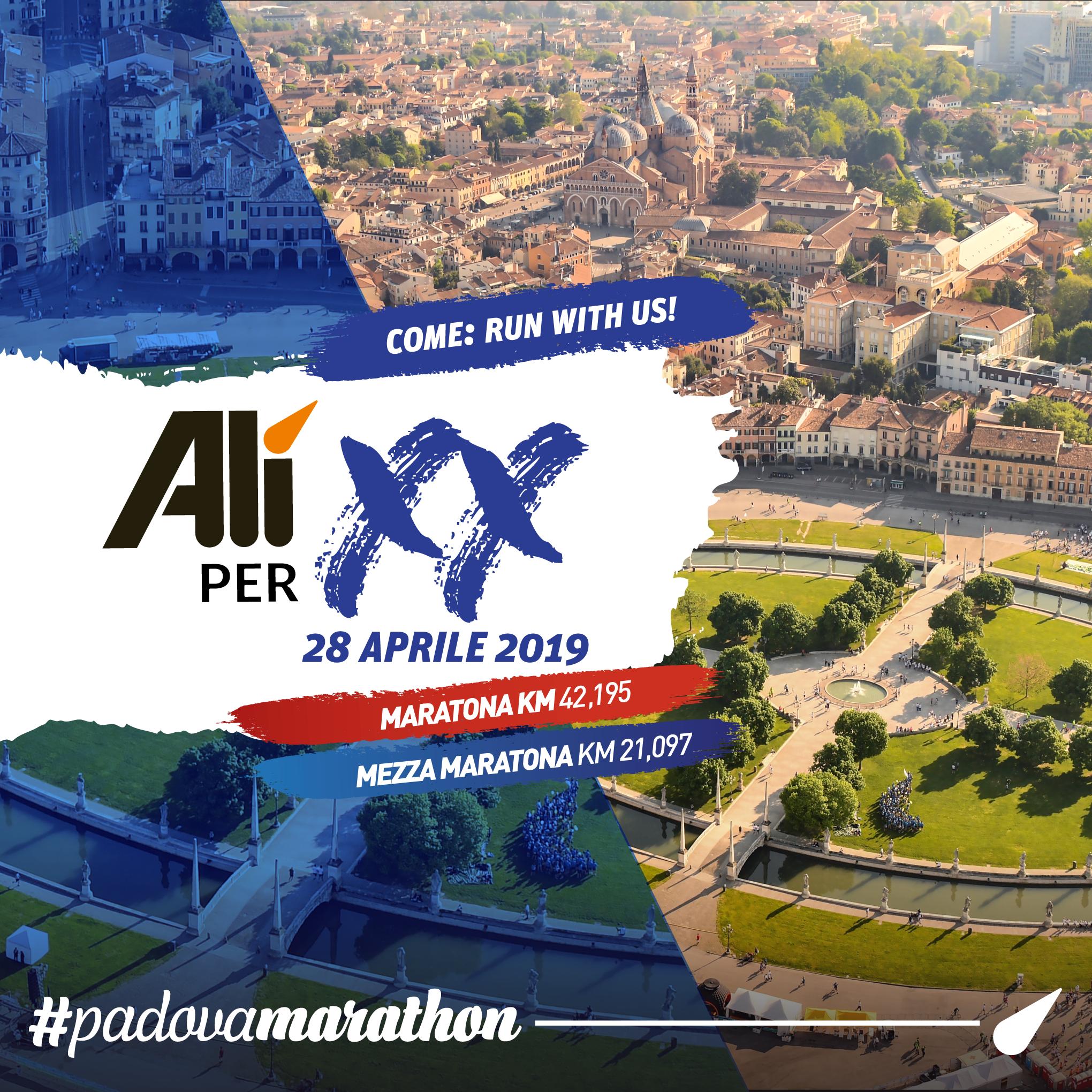 E per la ventesima edizione la Padova Marathon si fa ancora più bella e… veloce!