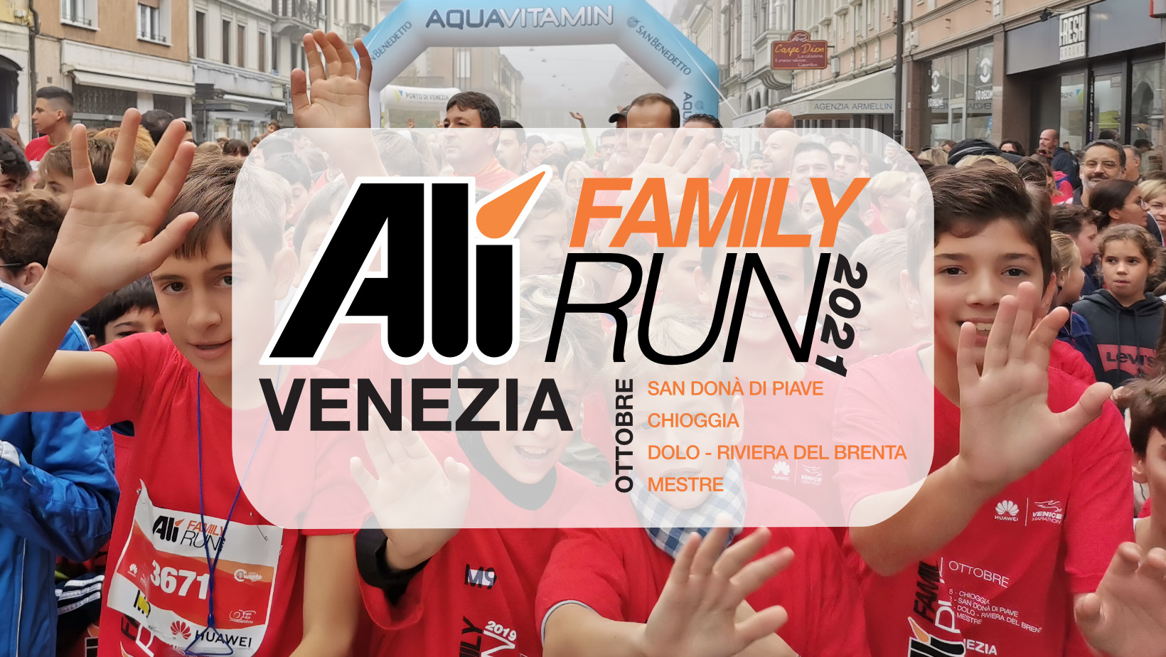 Alì Family Run – Inizio 2 ottobre a San Donà di Piave