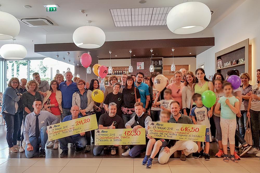 We Love People sostiene con 5000 € altre 15 associazioni del territorio