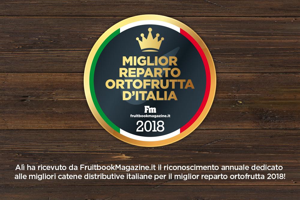Premio ad Alì per il miglior Reparto Ortofrutta d'Italia