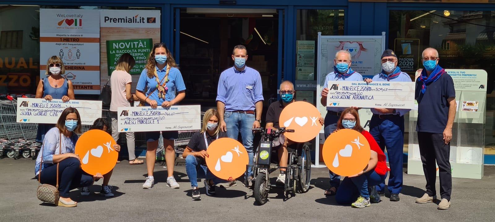 We Love People torna a premiare le associazioni del nostro territorio con altri 22.000 €