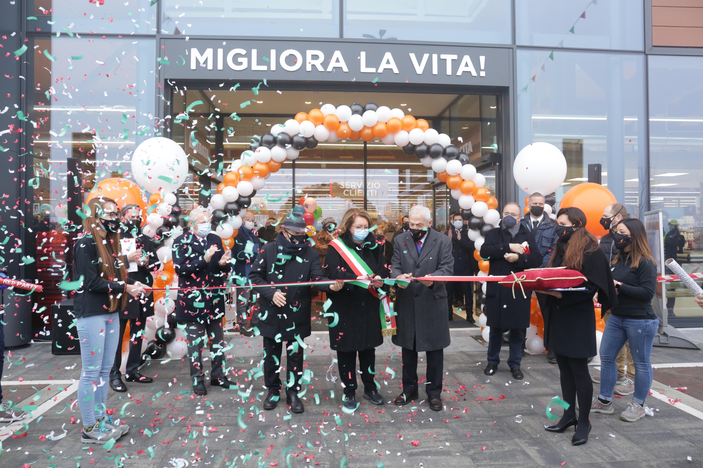 Inaugurato l'Alì di Montagnana in Via Lago Zorzi