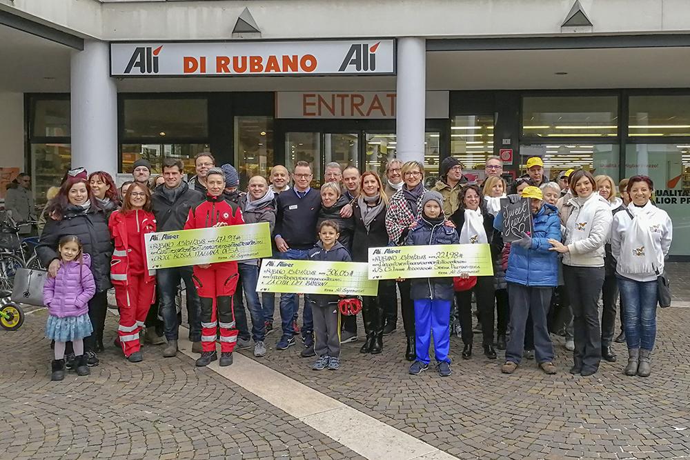 3000 € alle associazioni di Cavarzere, Casalserugo e Rubano