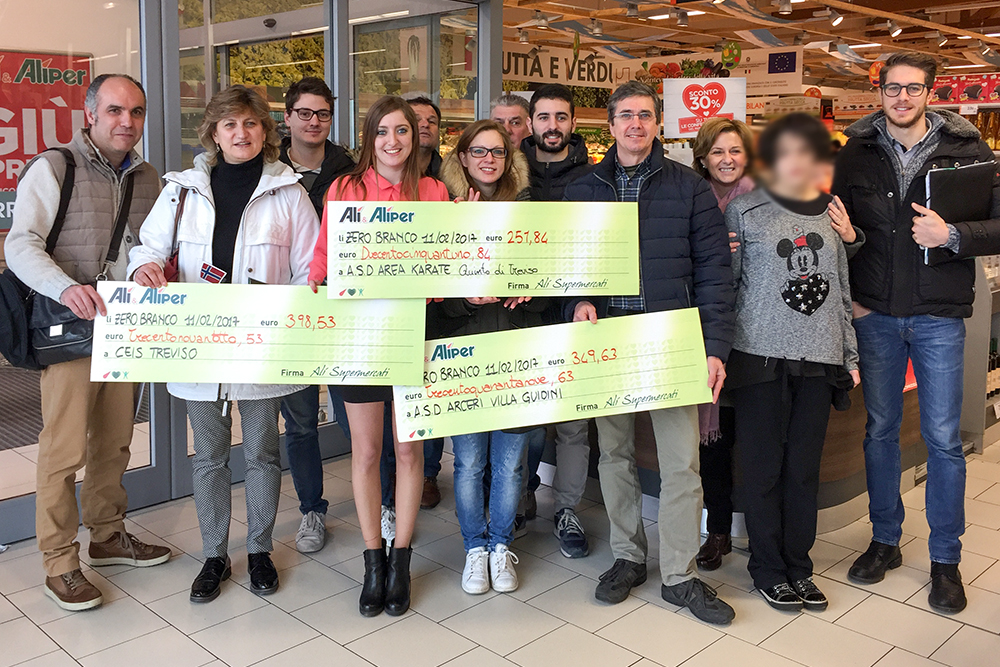 1000€ a Zero Branco con WeLovePeople