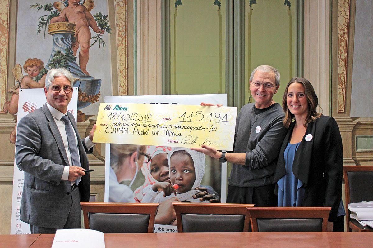 Una donazione di 115.494 Euro per regalare un sorriso ai bambini malnutriti di Wolisso, Etiopia