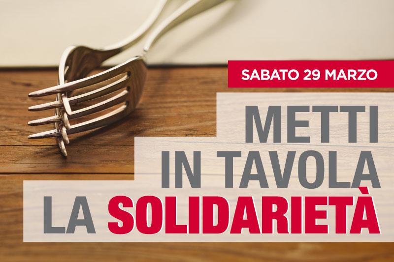 Metti in tavola la solidarietà con Croce Rossa Italiana e i supermercati Alì per il 50° Selex