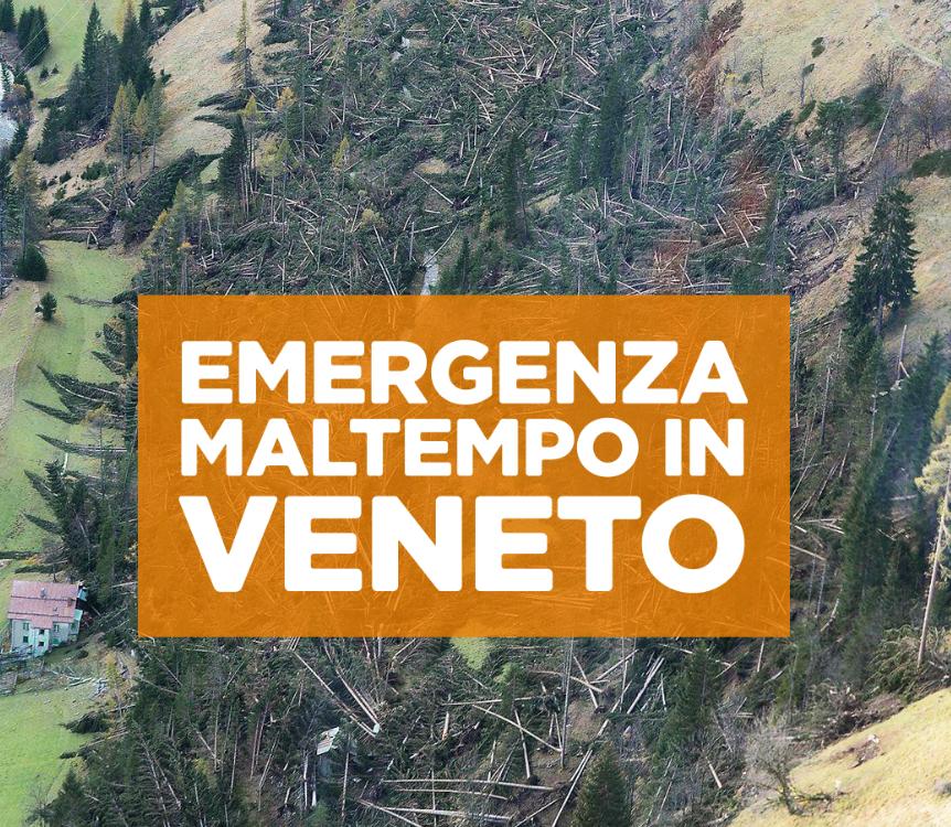 Emergenza Maltempo in Veneto, Dona anche Tu!