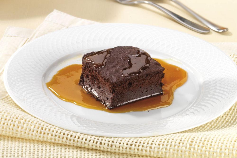 Fondente al cioccolato con crema all'arancia