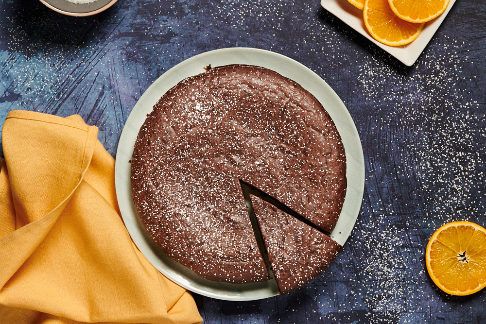 Torta al cioccolato senza burro