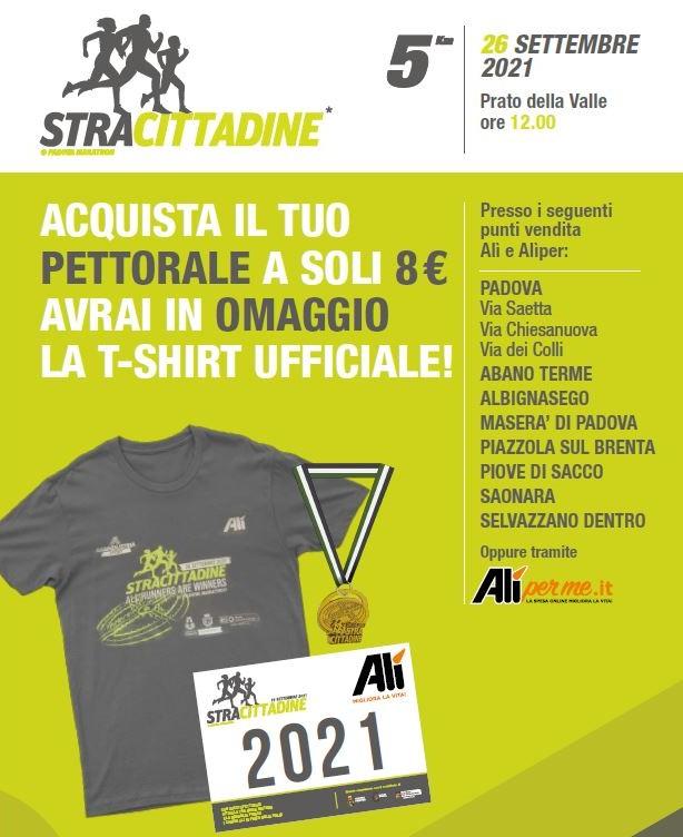 La Stracittadina da 5 km e le iniziative della Padova Marathon