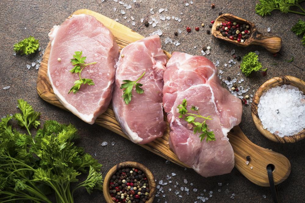 Carne di maiale per una pelle più giovane