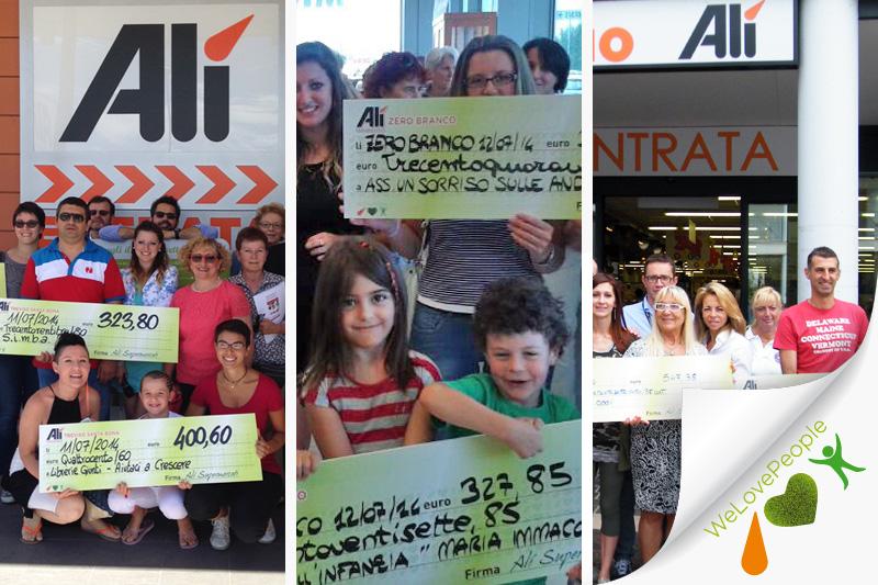 We Love People premia altre 9 associazioni del territorio