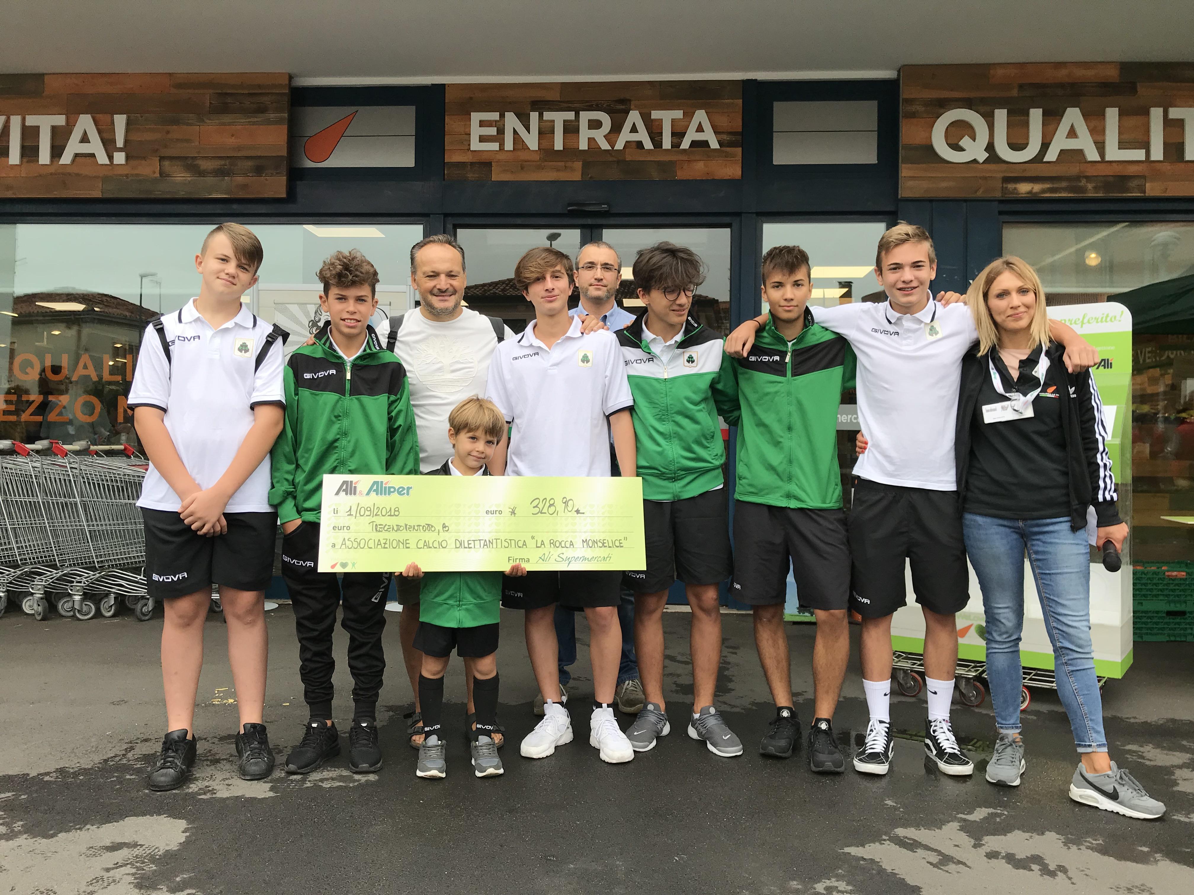 Con We Love People donati 4.000 € a Tresigallo, Monselice, Zero Branco e Rubano