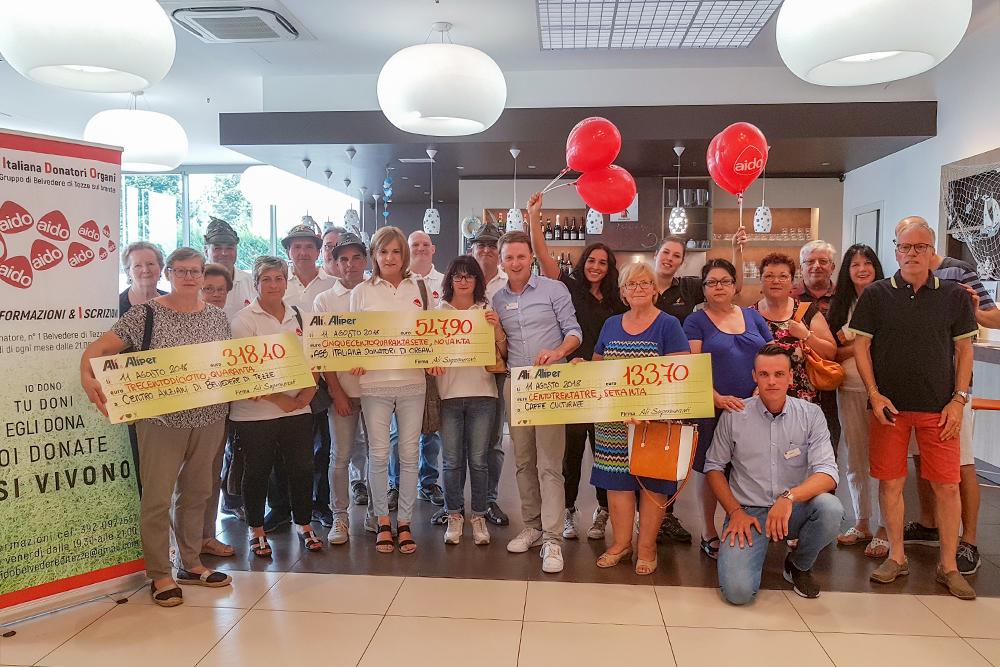 We Love People premia le associazioni di Cusinati di Tezze