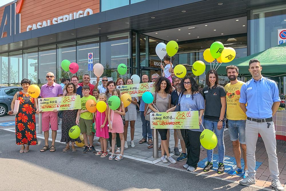 We Love People sostiene con 3000 € altre 9 associazioni del territorio