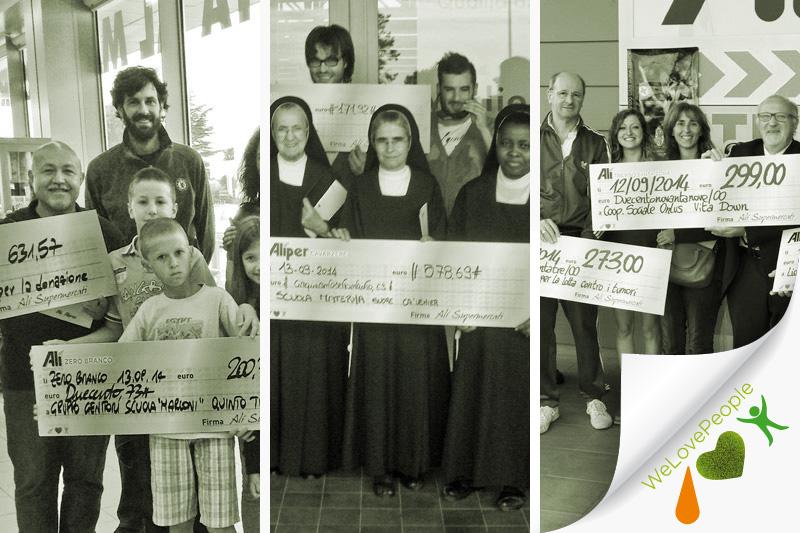 We Love People all'Alì di Treviso Santa Bona compie 2 anni e li festeggia con i suoi clienti!