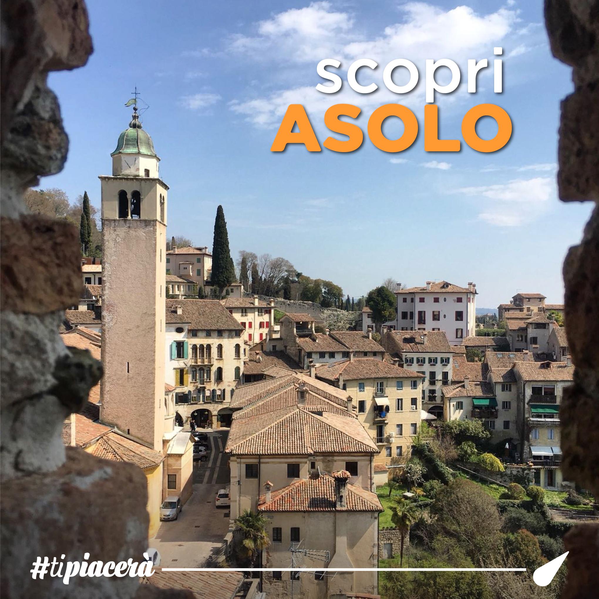 Asolo, in provincia di Treviso il magnifico borgo amato anche dai Vip