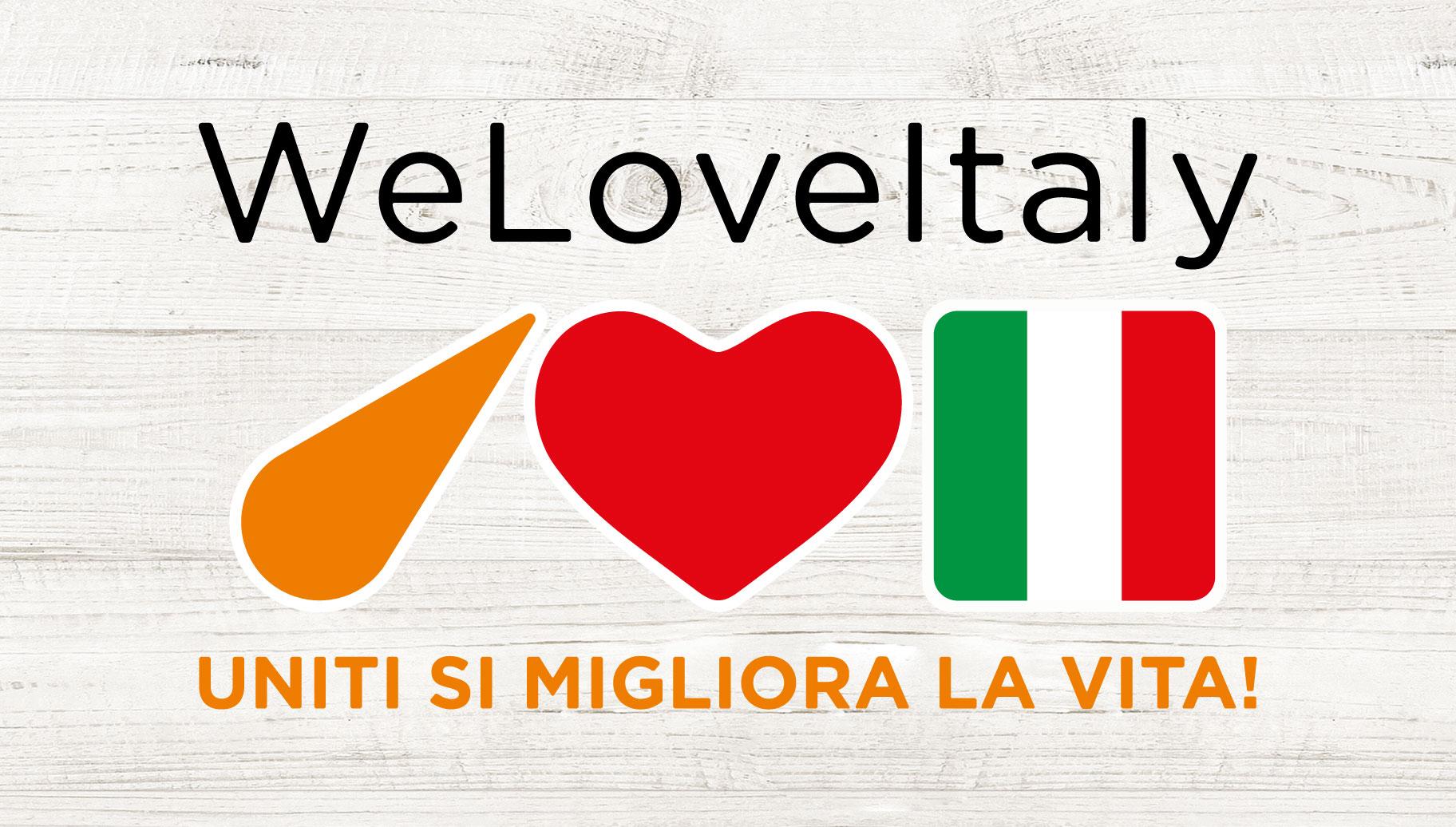 WeLoveItaly - Uniti si Migliora la Vita!