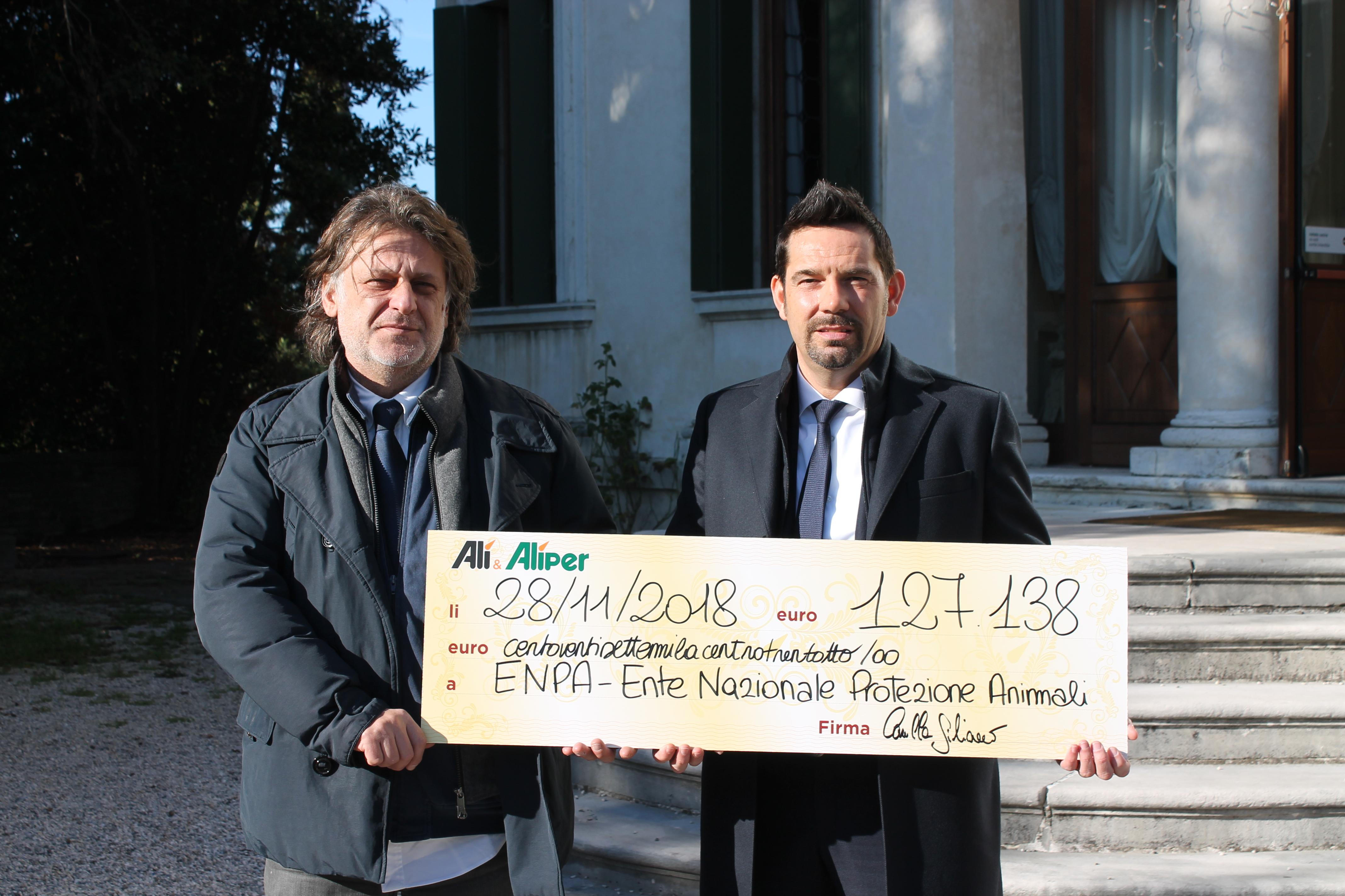 Record di Solidarietà: 127.138 € donati dai clienti Alì ad ENPA