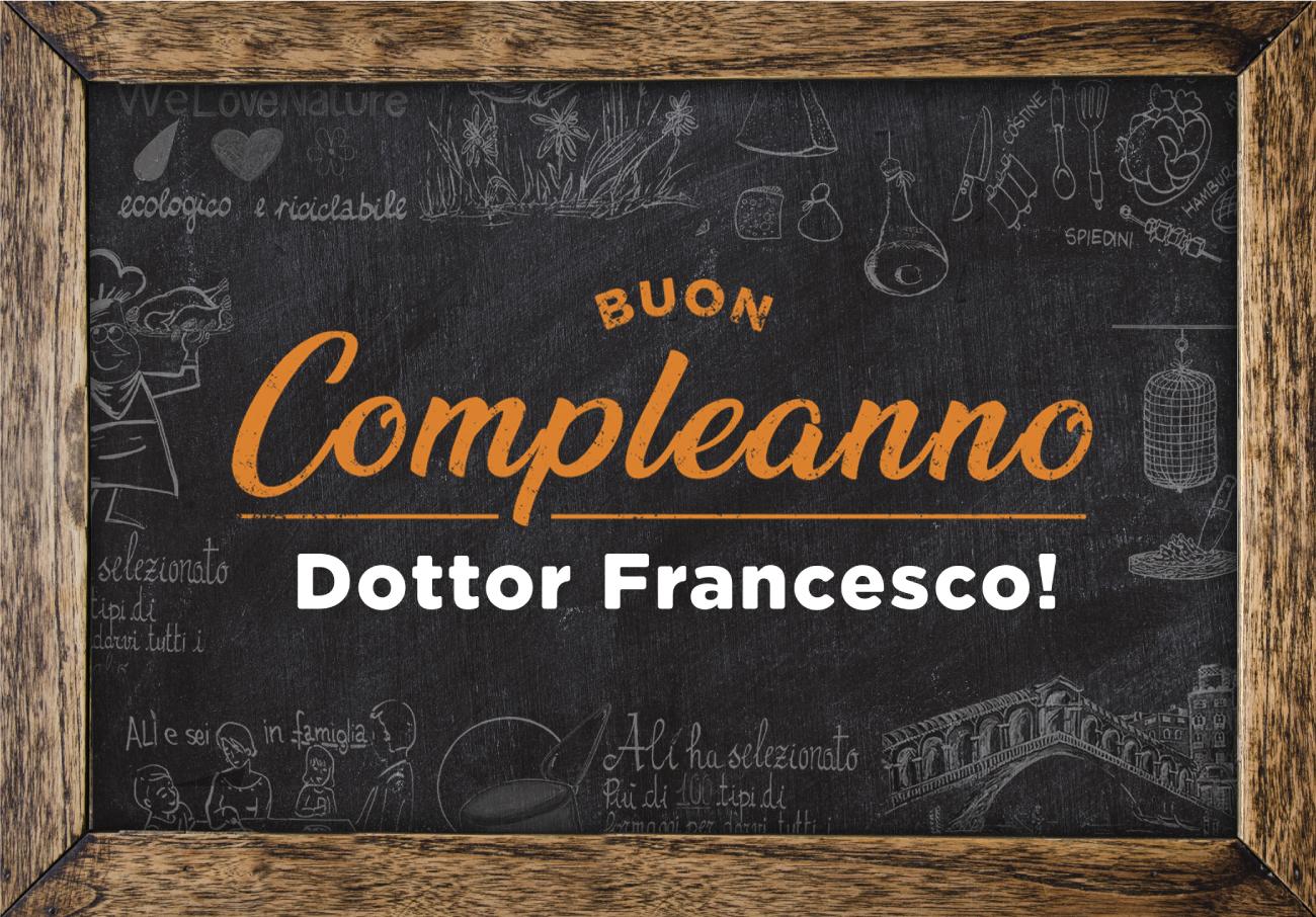 4.200 auguri per il compleanno del patron dei Supermercati Alì Francesco Canella