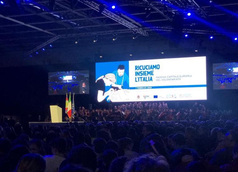Padova è Capitale Europea Del Volontariato 2020: inaugurazione con il Presidente della Repubblica