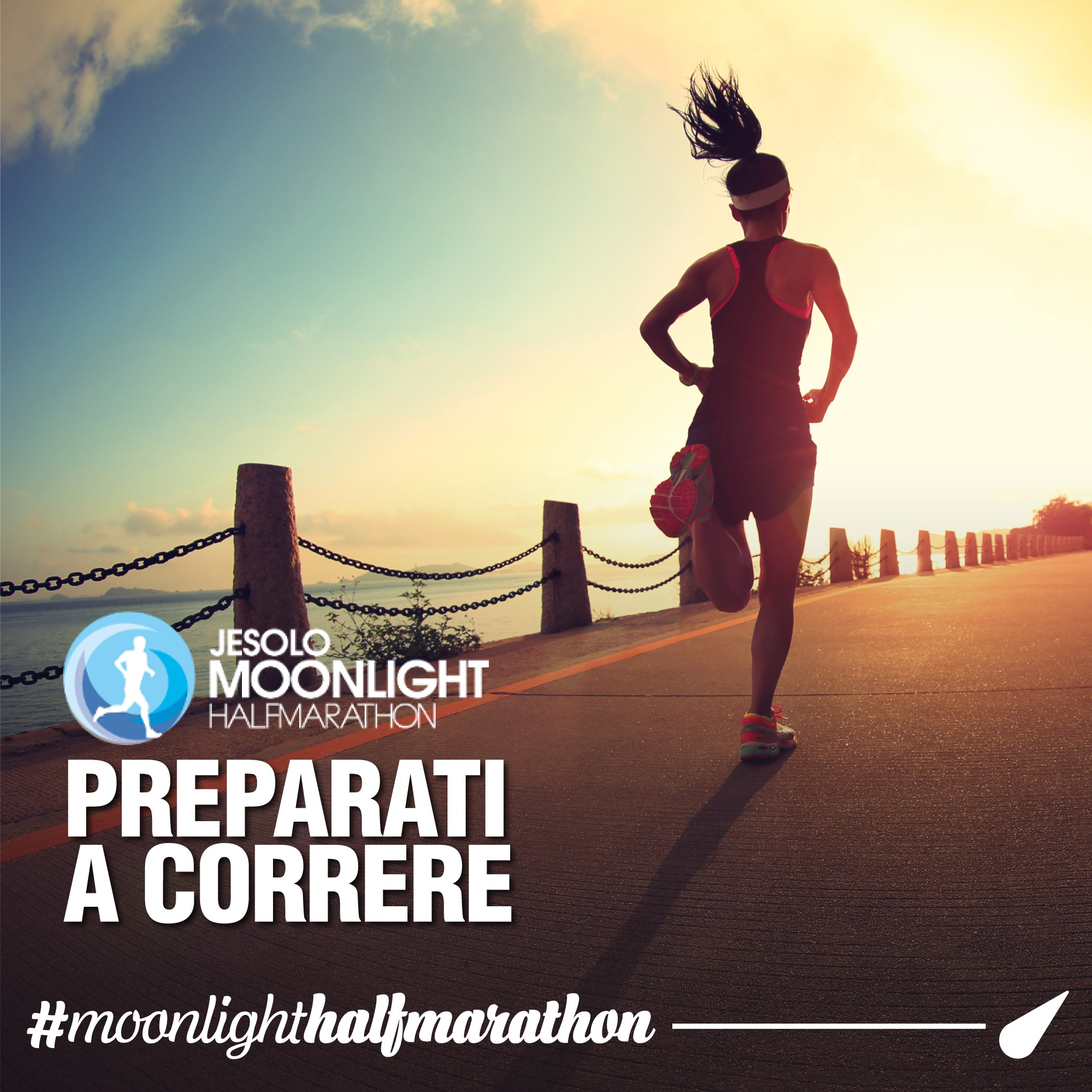 Tutto pronto  per la Moonlight Half Marathon